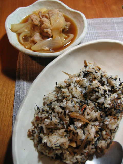 ひじき煮チャーハン